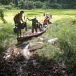 Limpeza de sangradouros melhora condições da pesca nos lagos do Acre