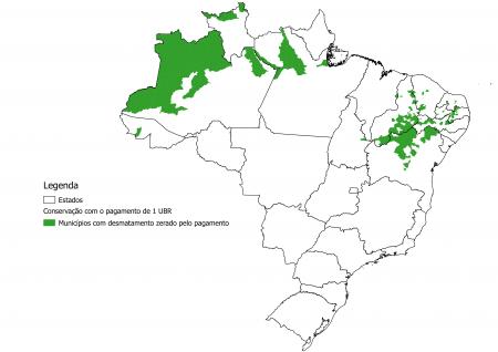 Municípios onde dá para zerar o desmatamento com R$ 300 milhões