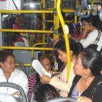 Os direitos das mulheres e o transporte público
