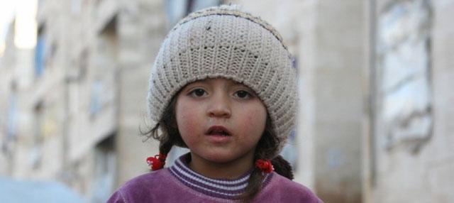 Refúgio de Al-Riad na cidade síria de Alepo. A população civil continua sofrendo violência e horríveis privações na Síria, segundo o Escritório das Nações Unidas para a Coordenação de Assuntos Humanitários. Foto: Josephine Guerrero/Ocha