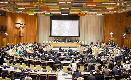 Na sexta-feira, 22 de abril, data em que se celebra o Dia da Terra, a ONU realizará uma reunião com líderes de Estado e governo, que deverão assinar o Acordo de Paris Foto: Rick Bajornas/ONU