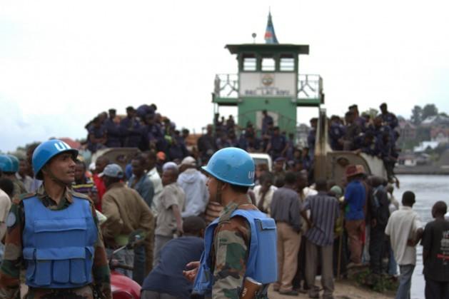 Soldados da ONU em Goma, na República Democrática do Congo. Foto: William Lloyd-George/IPS