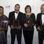 Jornalistas premiados por seu valor e coragem