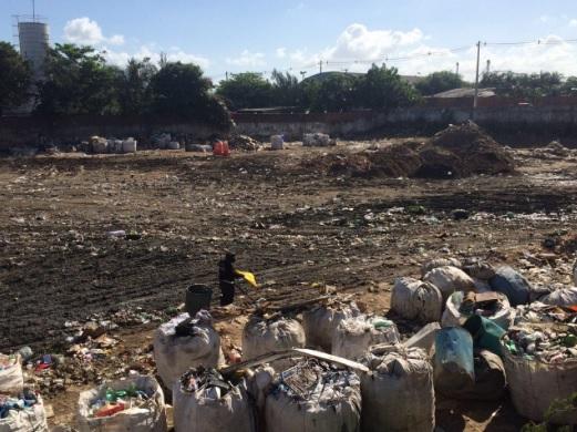 Área de Transbordo e Triagem de Resíduos em Fortaleza. Foto: Igor Reis de Albuquerque/ICLEI
