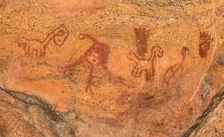 O Parque Nacional da Serra da Capivara é Patrimônio Mundial da Unesco pela importância dos registros rupestres encontrados no local. Foto: Marcello Casal Jr/Agência Brasil