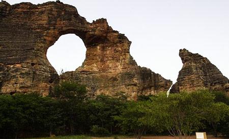 O Parque Nacional da Serra Capivara, no Piauí, está ameaçado pela falta de recursos. Unidade de conservação arqueológica é Patrimônio Mundial da Unesco. Foto:  Marcello Casal Jr/Agência Brasil
