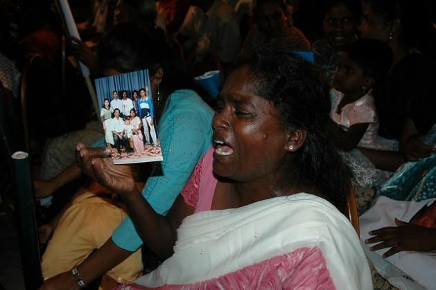 O governo do Sri Lanka reconheceu que pode haver 65 mil pessoas desaparecidas após mais de duas décadas e meia de guerra civil. Foto: Amantha Perera/IPS